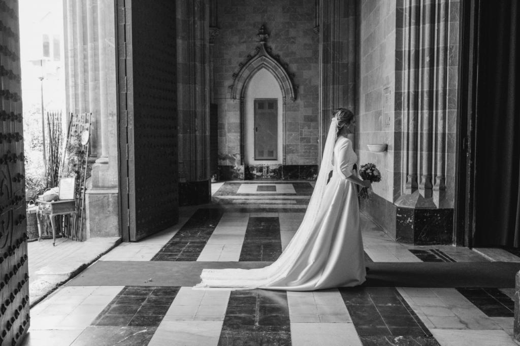 vestido de novia iglesia
