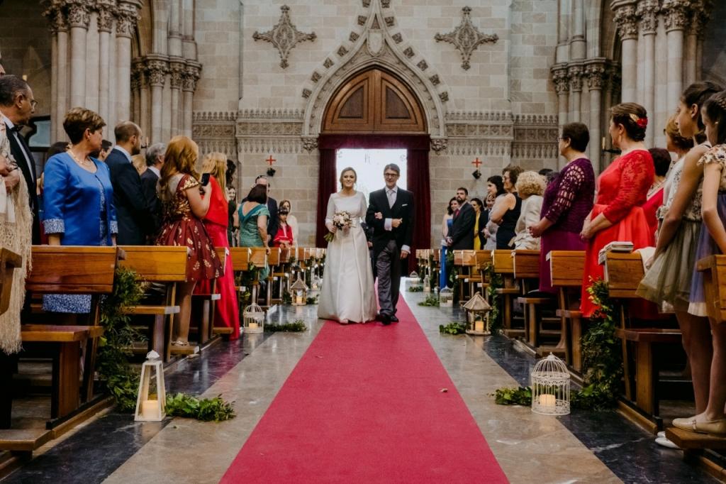 entrada novia y padrino