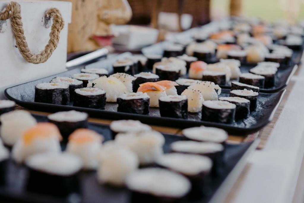 buffet sushi boda