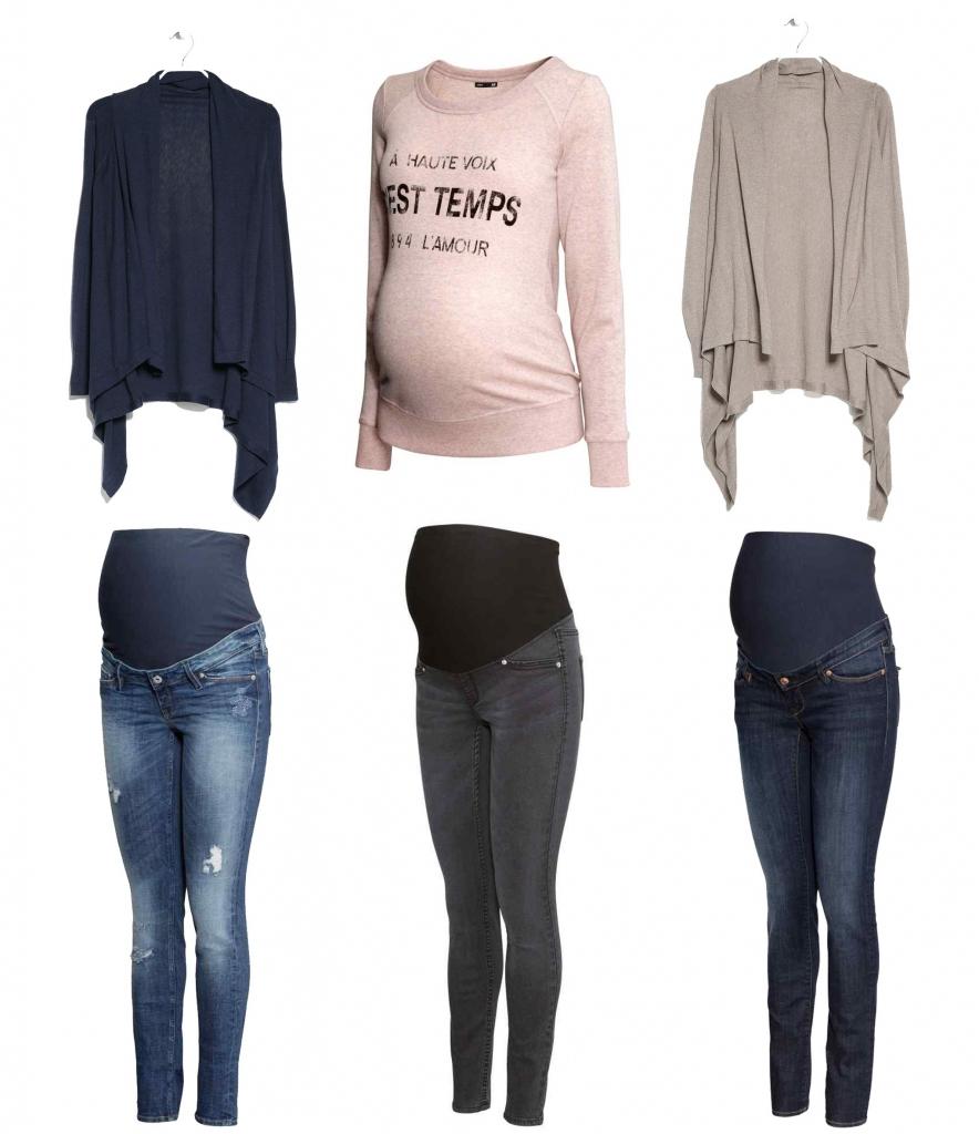 como vestir si estás embarazada
