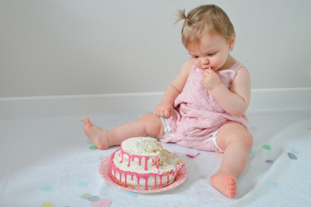 ideas sesion smash cake en casa