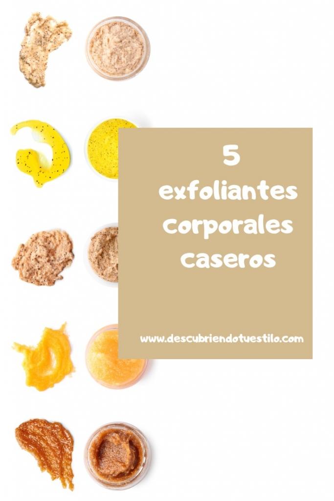 exfoliantes cosmética natural