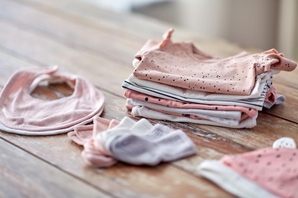ropa del bebé para el hospital