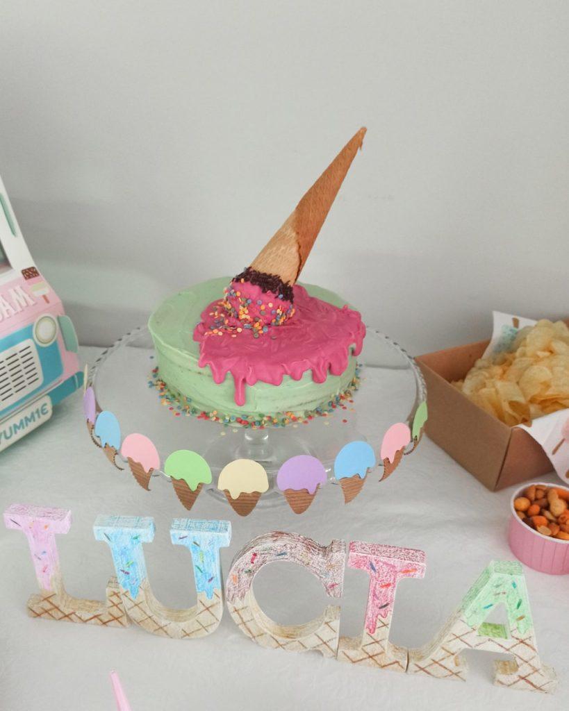 tarta fiesta de helados