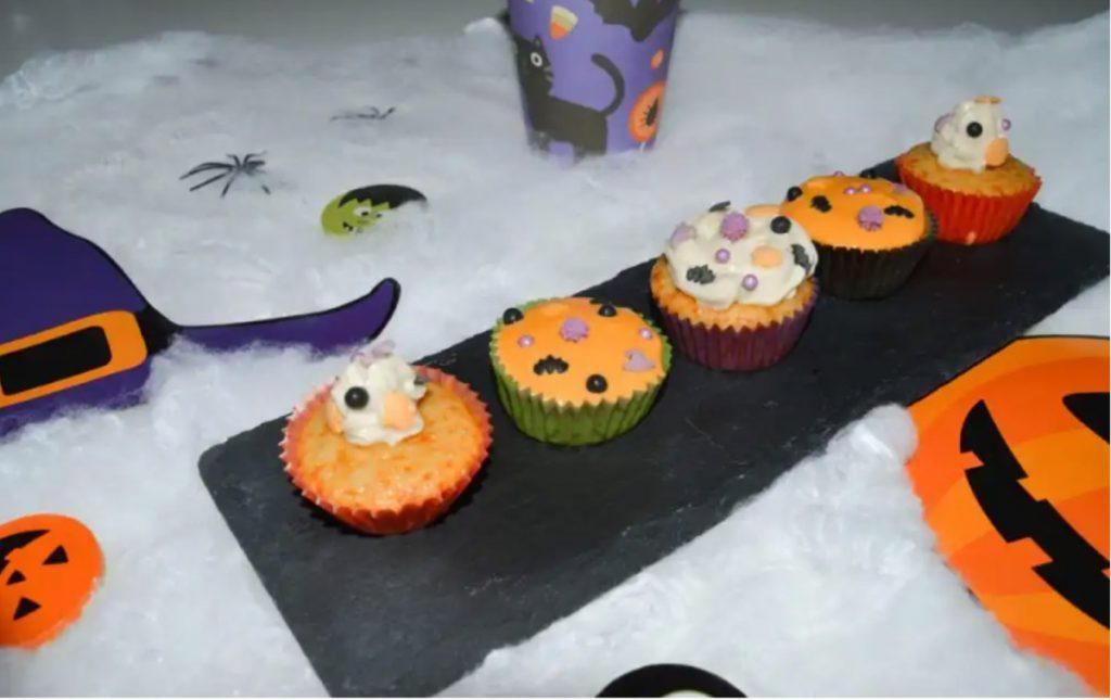 cupcakes faciles para halloween