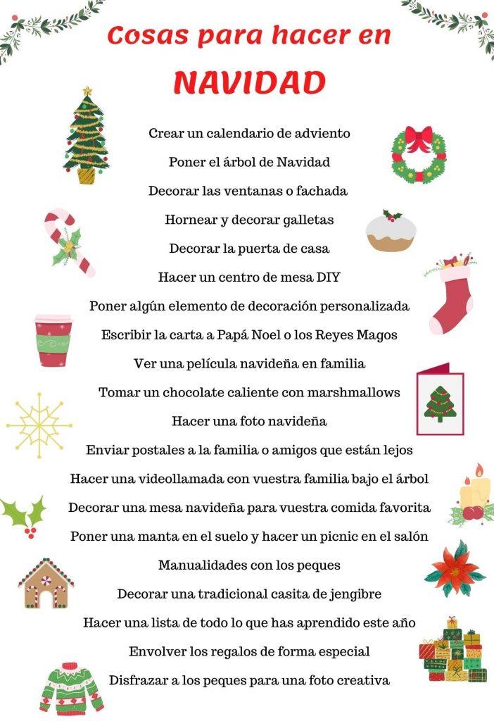 actividades de navidad en casa