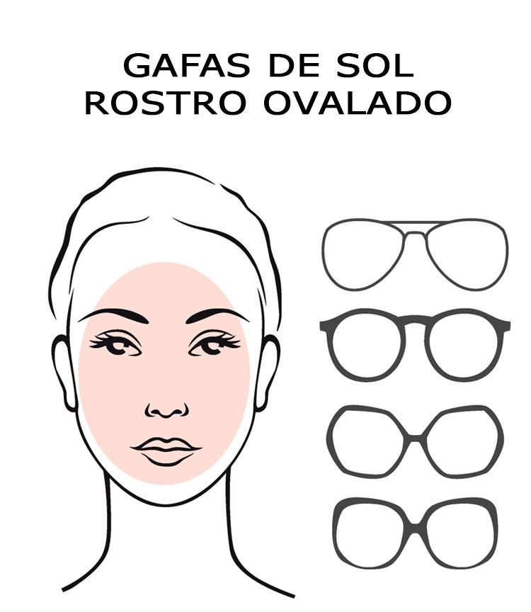Gafas rostro ovalado
