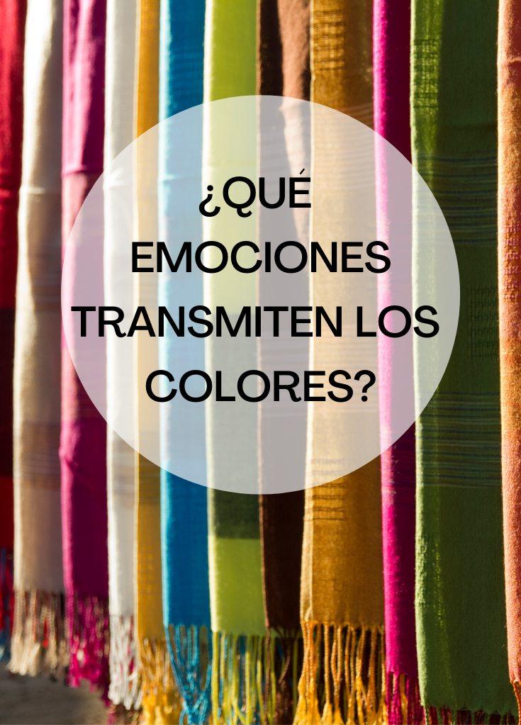 qué transmiten los colores emociones